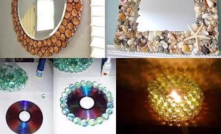 Έξυπνες ιδέες από άχρηστα αντικείμενα .