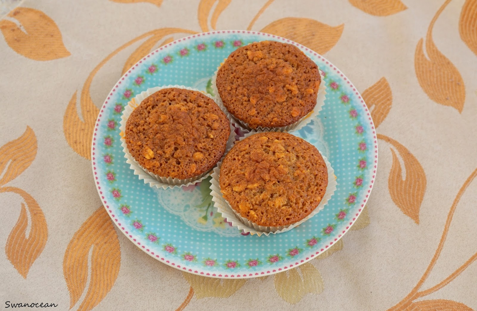 Whole wheat oat muffins - Swanocean's Recipes
