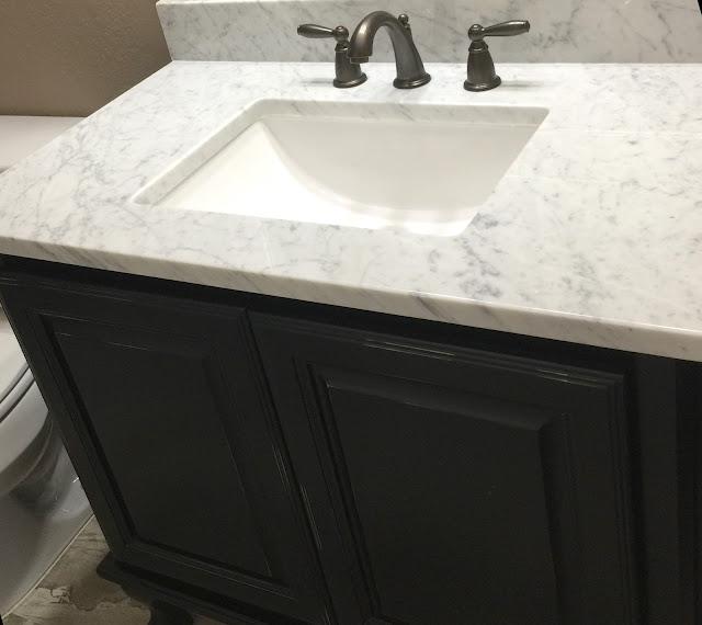 Carrara Marble Vanity Top