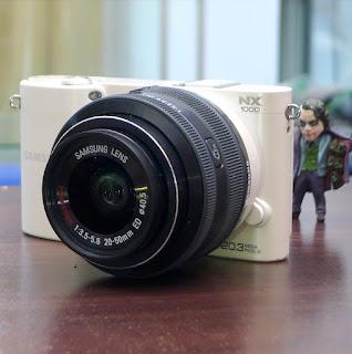 Samsung NX1000 Wi-FI - Kamera Mirrorless