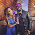 DJ Cuppy hangs out with TPain at MTV studio