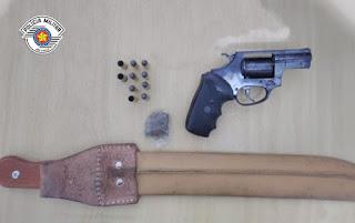 Polícia Militar prende homem armado em Sete Barras