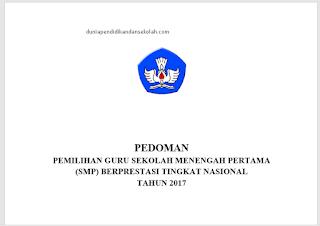 Pedoman Guru Berprestasi (Gupres) Smp Dan Sma Tingkat Nasional