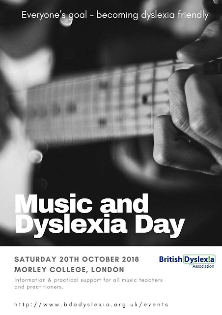 Music and Dyslexia Day