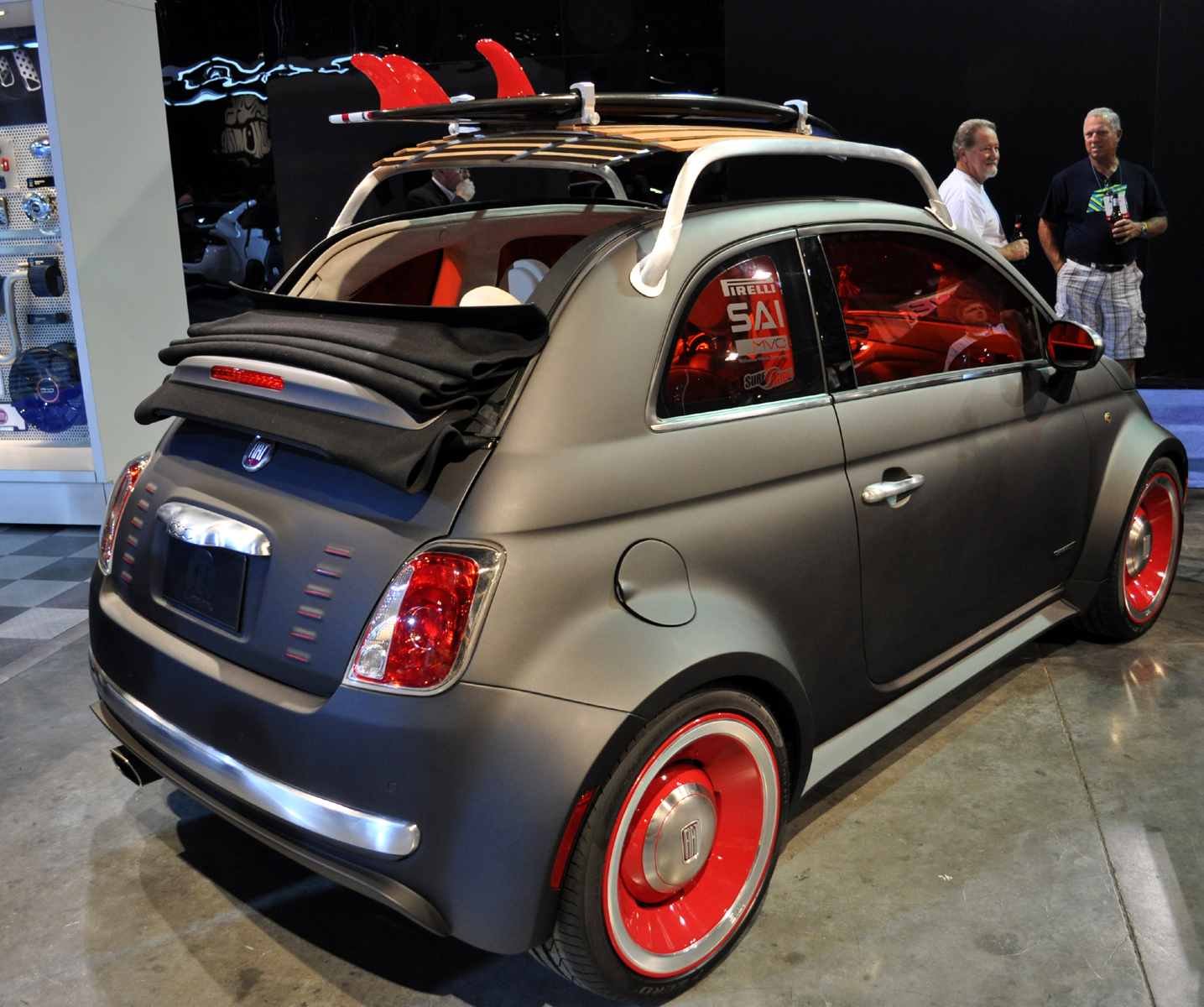 Just A Car Guy: Fiat 500 Beach Cruiser