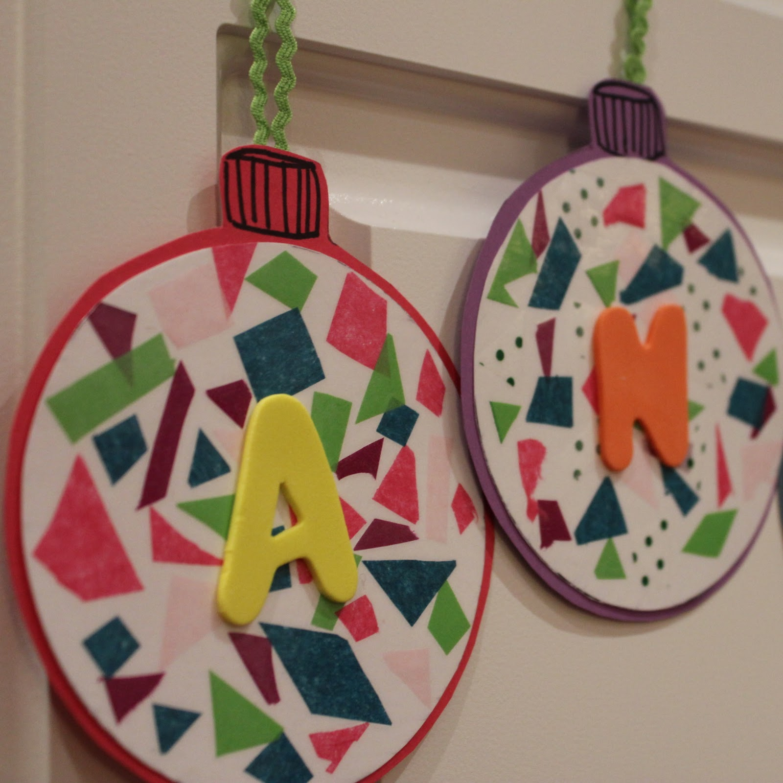 Toddler Approved Snippin Name Ornaments With Bob Books