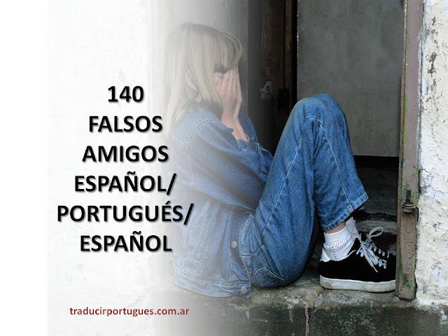 falsos amigos, portugues, español