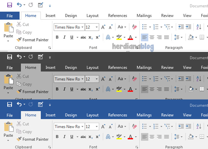 Mengganti-Tema-MS-Word