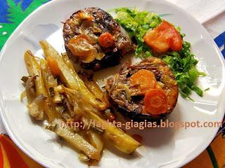 Τόνος στο φούρνο με λαχανικά - από «Τα φαγητά της γιαγιάς»