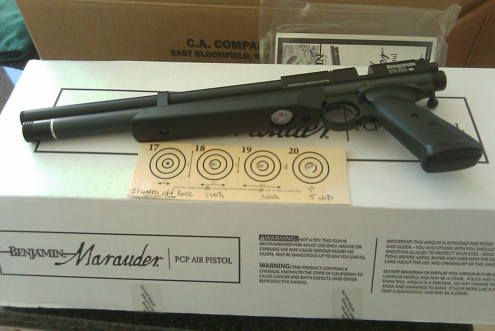 Ronnie Report: Ronnie's Tuned Marauder Pistol (RE Tack-12)