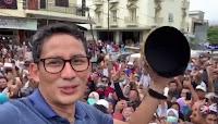 Sandiaga Uno: Prabowo-Sandi Akan Bawa Perubahan Bagi Ekonomi Indonesia