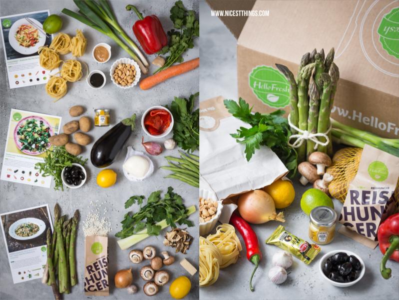 HelloFresh Erfahrungen Veggie Box