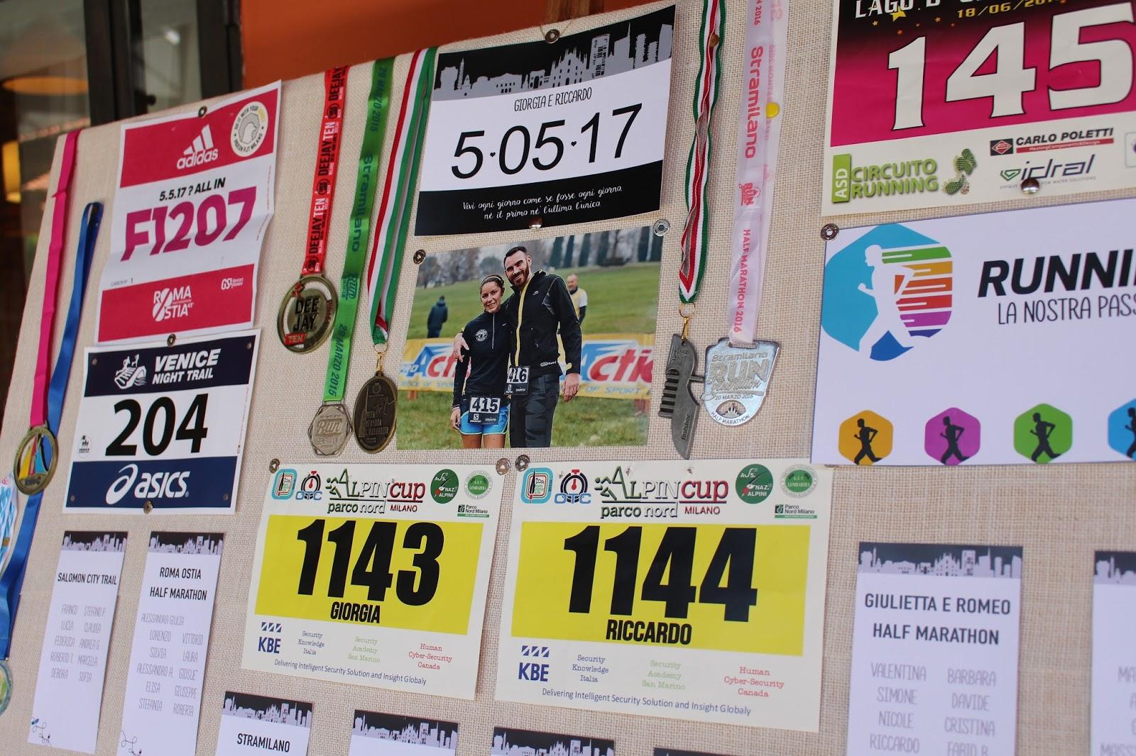 Organizzare un tableau tema maratona