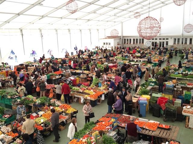 Mercado de Natal em Cascais