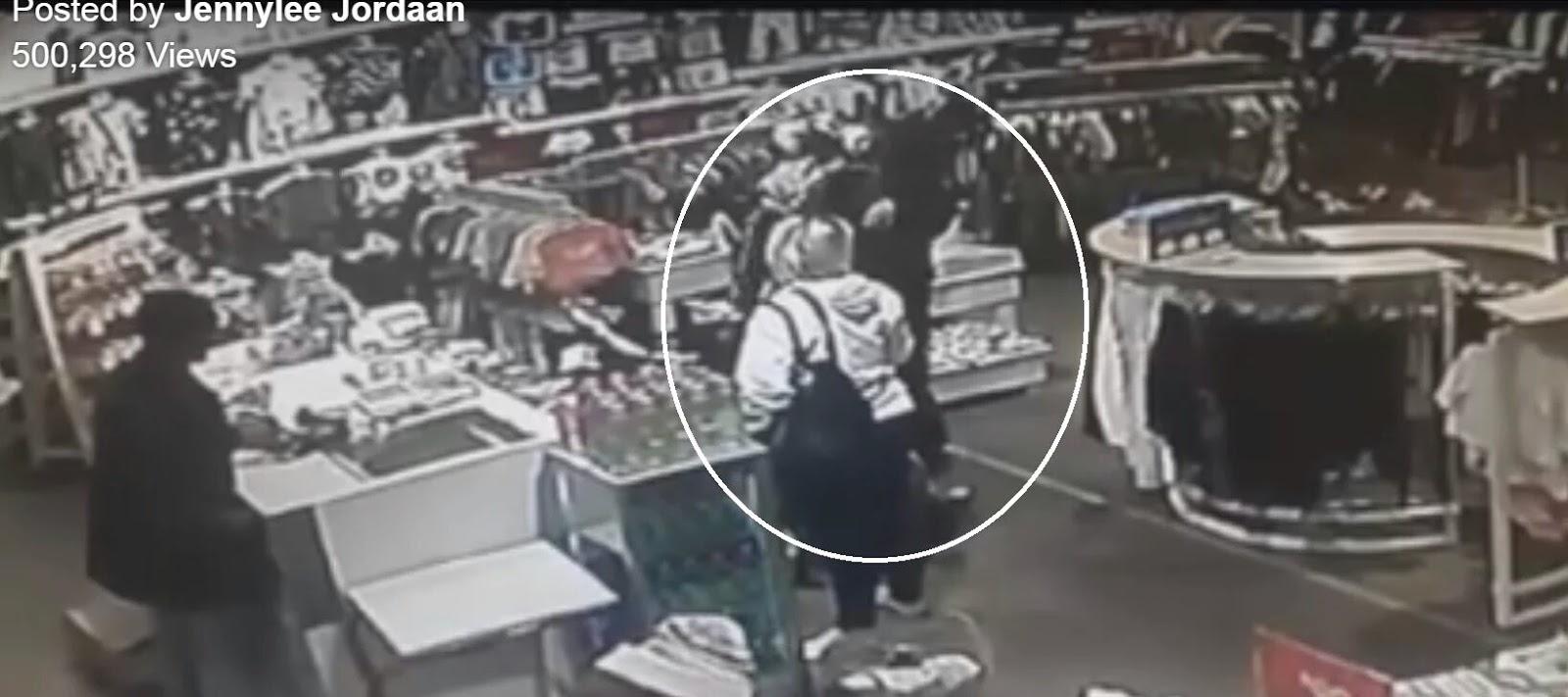 #Afrikaans mom Jennylee Jordaan's video of #KidnapAttempt of 2yo daughter