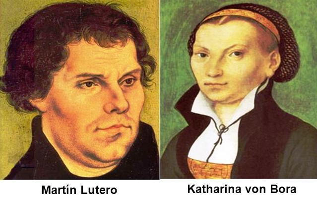 Resultado de imagen para Fotos de Martín Lutero y la monja Katharina von Bora