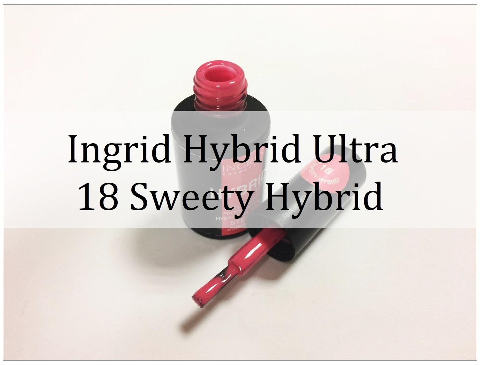 b6b4cda62b3f6 Koralowy ideał. Ingrid Hybrid Ultra nr 18 Sweety Hybrid - Piękny blog