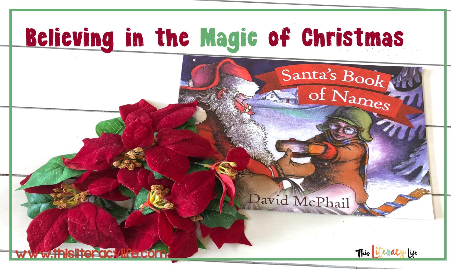 Using various comprehension skills can help students find theme in the books they read. Using read alouds helps them on their journey to better comprehension. Santa's Book of Names is perfect for that.