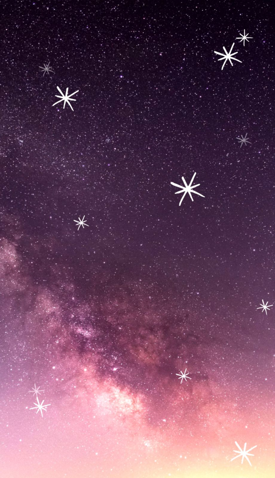 Stars Wallpaper Iphone Wallpapers Master
