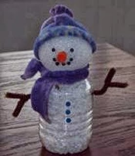How To Recycle Recycled Snowman Christmas Decor