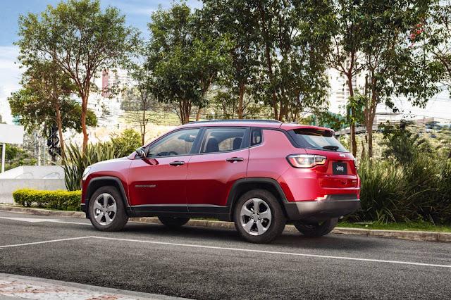 Novo Jeep Compass 2017 Longitude Diesel