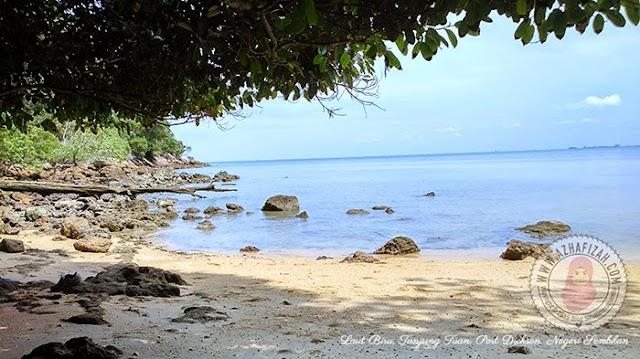 Laut Biru Tanjung Tuan, Port Dickson