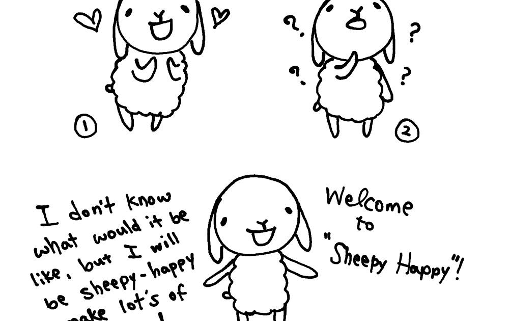 Sheepy Happy!: Day 1. I am Sheepy Poo.