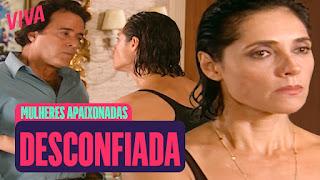 Sassaricando No VIVA! Aparício Tenta Impedir Casamento - Mulheres Apaixonadas  Helena Exige Saber Quem É Fernanda