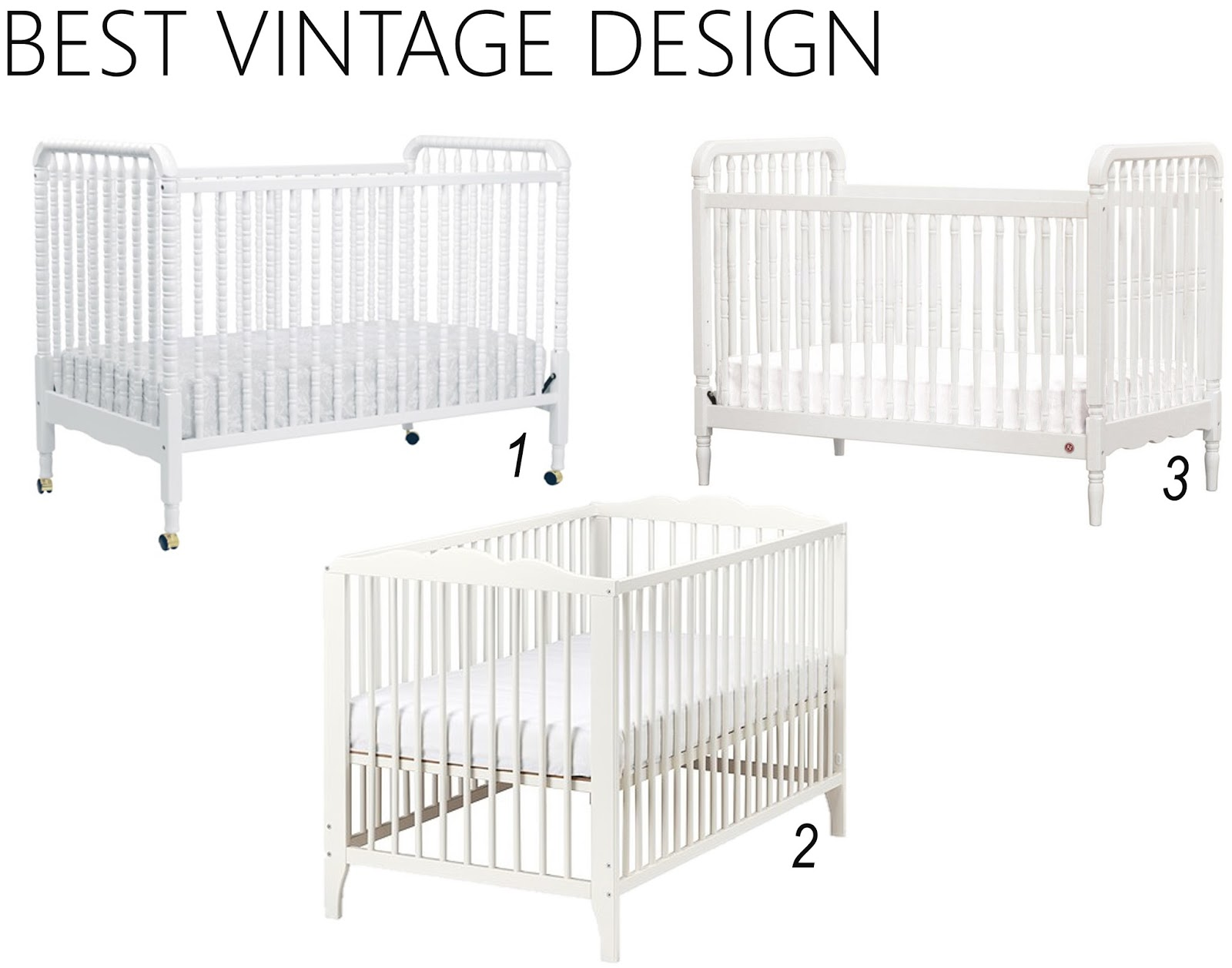 Iron Amp Twine White Baby Cribs