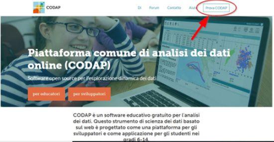 Codap: creare grafici e tabelle