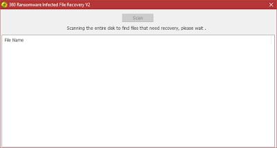 Herramienta de recuperación de archivos encriptados por el ransomware Wannacry