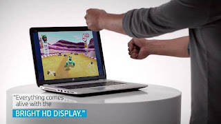 the world's first notebook with integrated Leap MotionTM technology, the HP ENVY 17