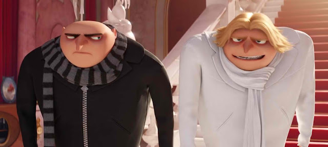 Gru and Dru in Despicable Me 3