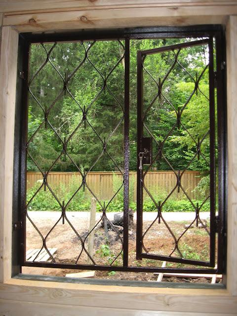 строим дом решетки на окна