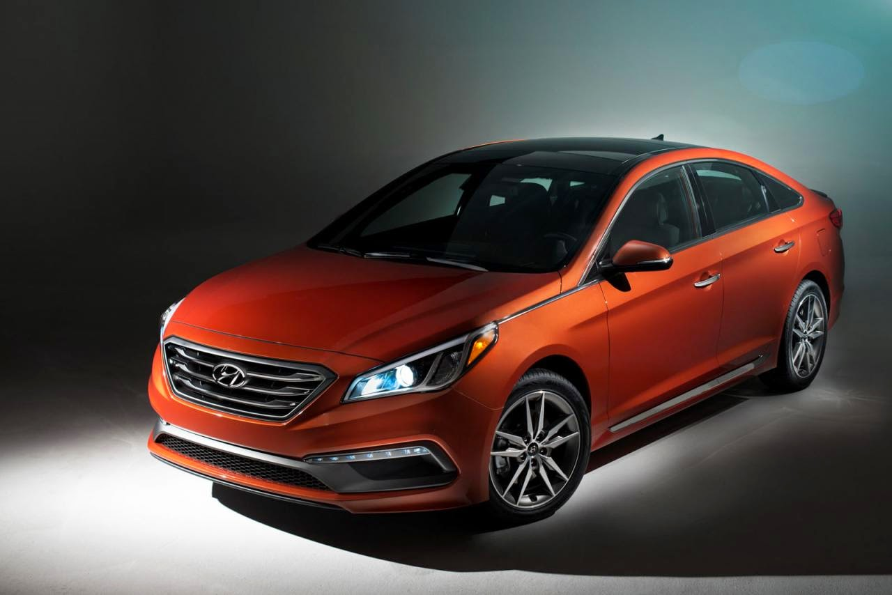 All-new Hyundai Sonata launched for the 2015 model year over at the 2014 New York Motor Show