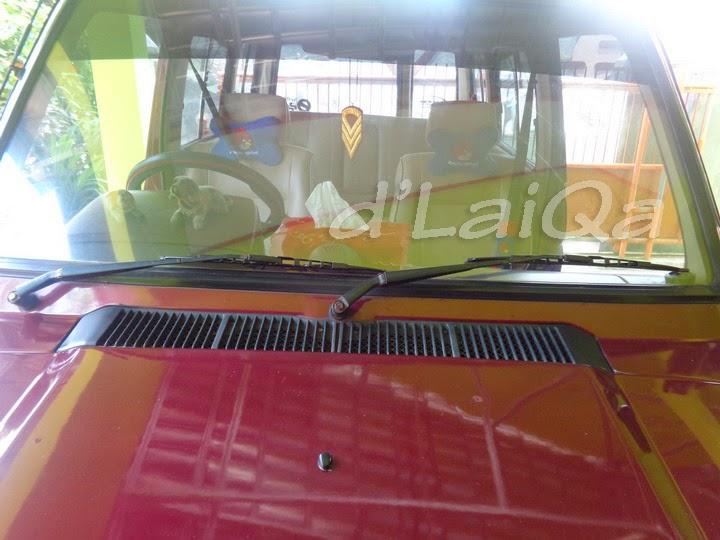 Ukuran Wiper Grand New Avanza 2015 Stop Lamp D Laiqa Arena Mengganti Blade Pada Kijang Super Tampilan Depan Toyota