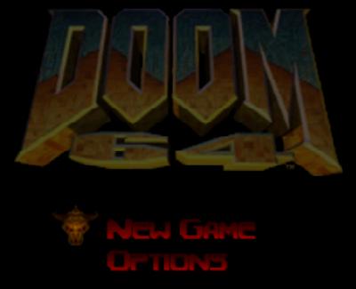 【N64】毀滅戰士(DOOM)+密技,精典第一人稱槍戰射擊!
