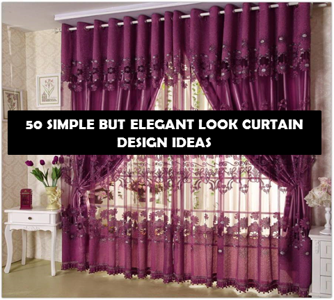 50 SIMPLE BUT ELEGANTY LOOKING CURTAIN DESIGN IDEAS - Bahay OFW