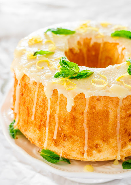 Recipes: lemon chiffon cake {10 Lovely Lemon Desserts by Cool Chic Style Fashion}