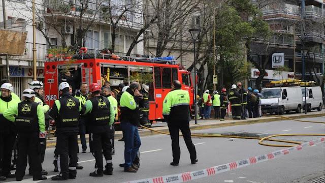 Fuga de gas deja un muerto y dos heridos en Argentina