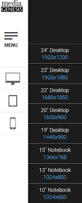 Pilihan layar desktop