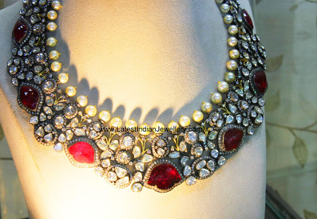 Amrapali Bridal Ruby Necklace