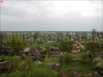 Новогрудок. Вид с холма замка Миндовга
