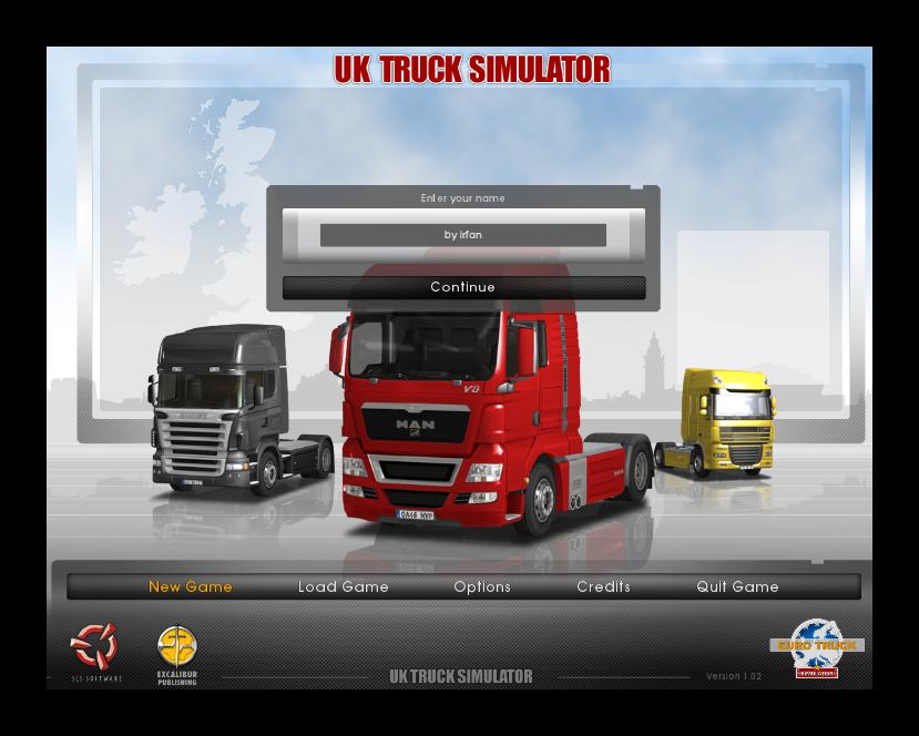 UK Truck Simulator - Katılımsız Oyun