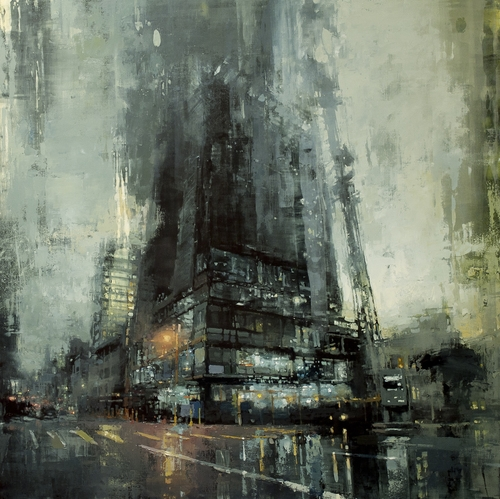 15-Construction-Jeremy-Mann-Figurative-Painting-in-Cityscapes-Oil-Paintings-www-designstack-co