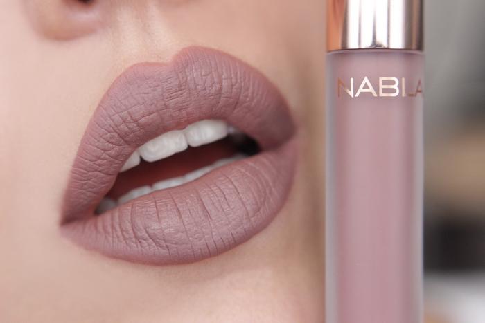 nabla matte liquid lipstick Stronger