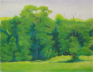 http://www.ebay.com/itm/Green-Trees-in-Hammer-Field-unframed-pastel-painting-by-artist-Jack-Bingham-/192127219272?hash=item2cbbacb648:g:hVoAAOSwdGFYxBlp