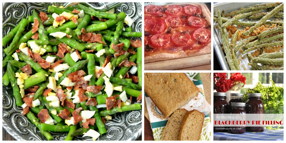 overflowing green beans and tomatoes will give you an opportunity to use these great recipes