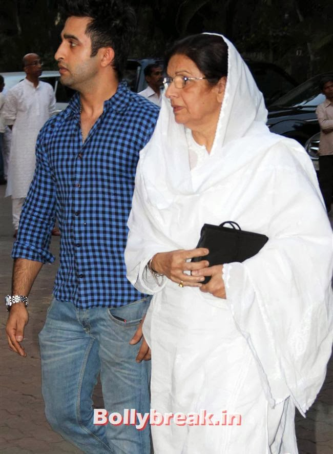 , Celebs at Farooq Sheikh Prayer Meet