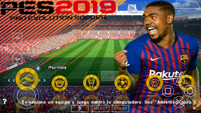 """SAIU!! PES 2018 LITE """"500MB"""" PPSSPP/PSP/PC/ANDROID"""